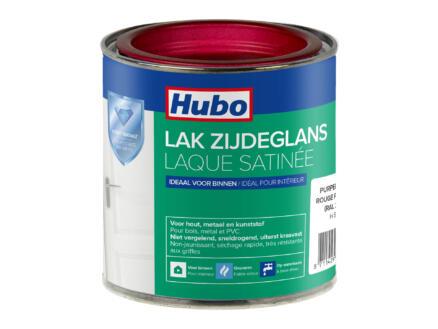 Hubo acryllak zijdeglans 0,25l purperrood