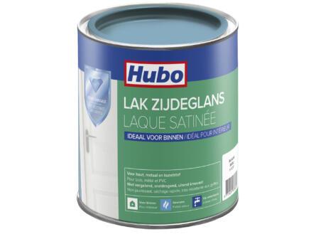 Hubo acryllak zijdeglans 0,75l blauw