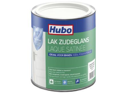 Hubo acryllak zijdeglans 0,75l gebroken wit