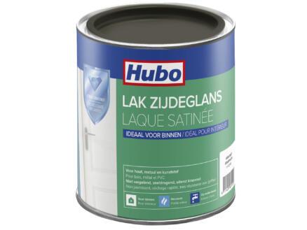 Hubo acryllak zijdeglans 0,75l grafiet