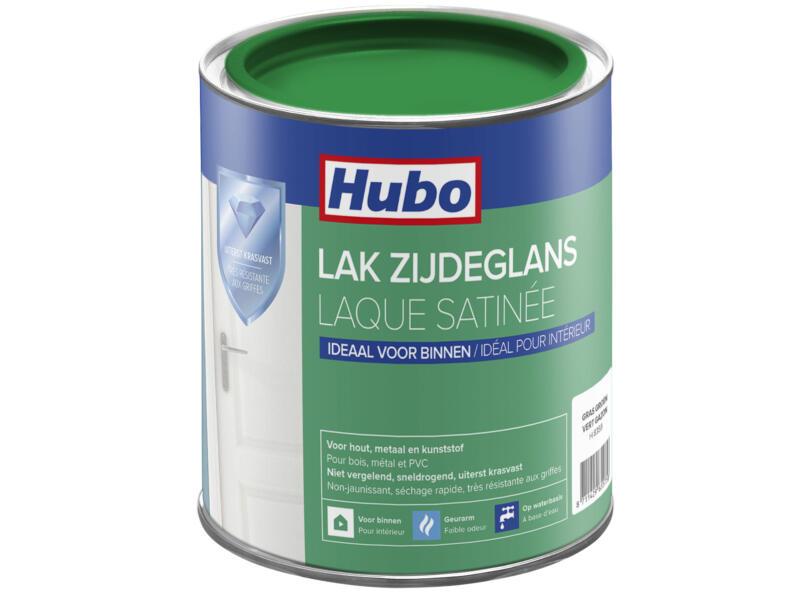 Hubo acryllak zijdeglans 0,75l gras groen