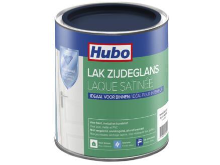 Hubo acryllak zijdeglans 0,75l indigo blauw