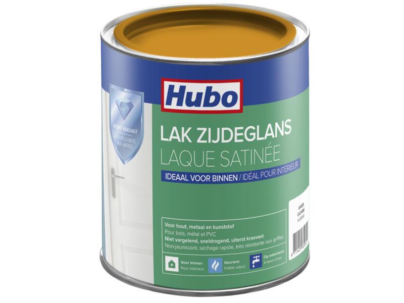 Hubo acryllak zijdeglans 0,75l oker