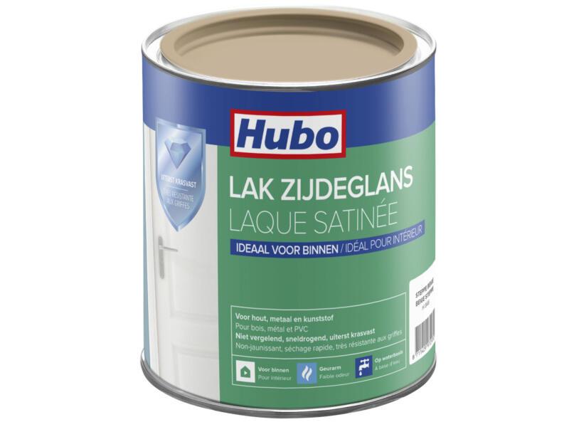 Hubo acryllak zijdeglans 0,75l steppe beige