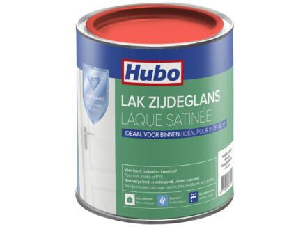 Hubo acryllak zijdeglans 0,75l warm rood