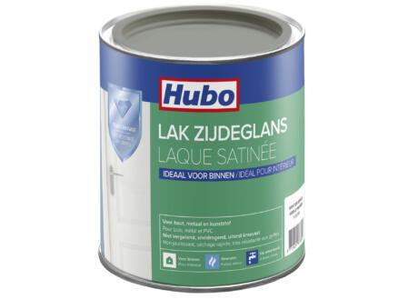 Hubo acryllak zijdeglans 0,75l winter grijs