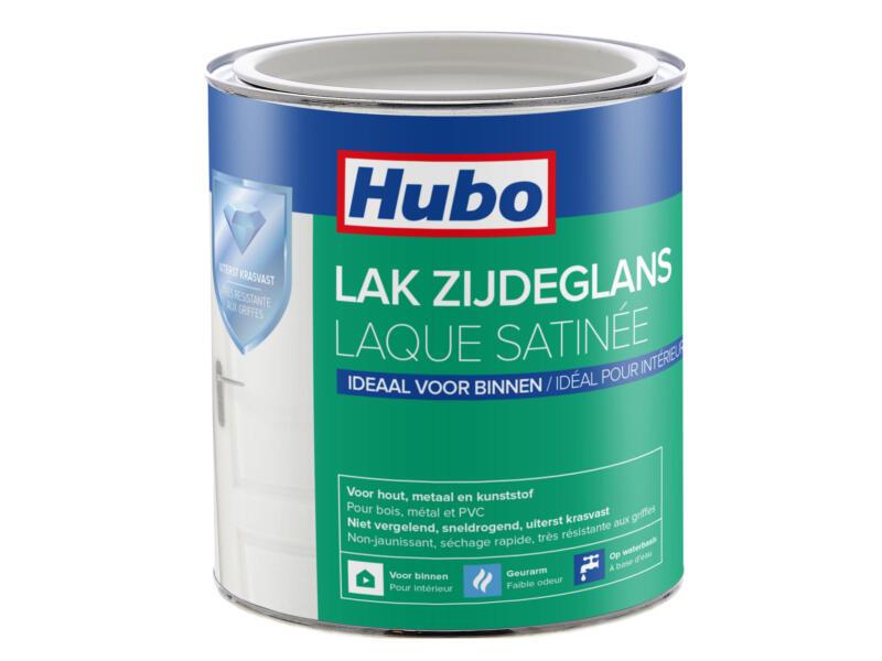 Hubo acryllak zijdeglans 0,75l wit
