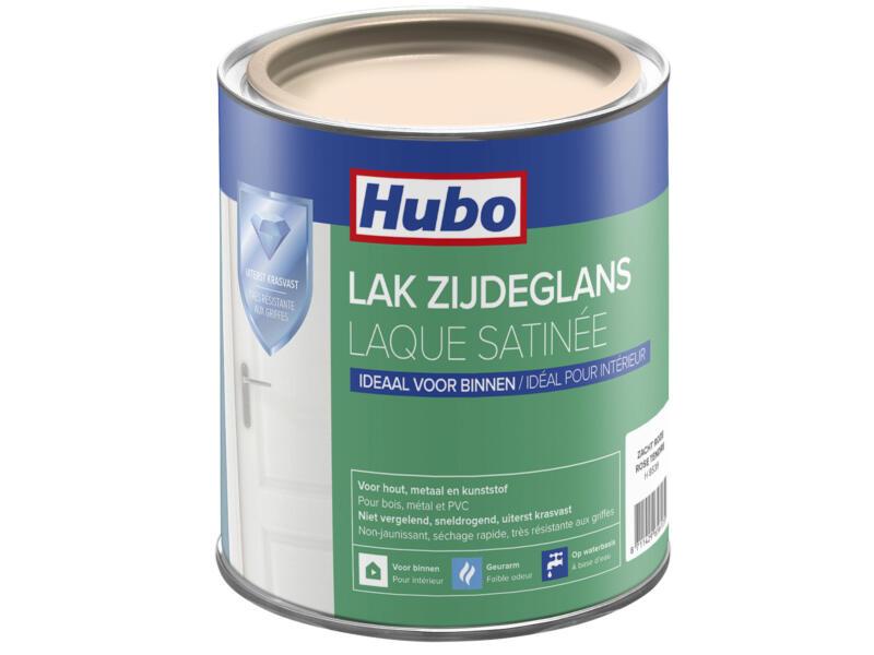 Hubo acryllak zijdeglans 0,75l zacht roze