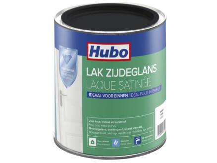 Hubo acryllak zijdeglans 0,75l zwart