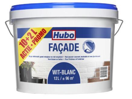 Hubo gevelverf façade 12l wit