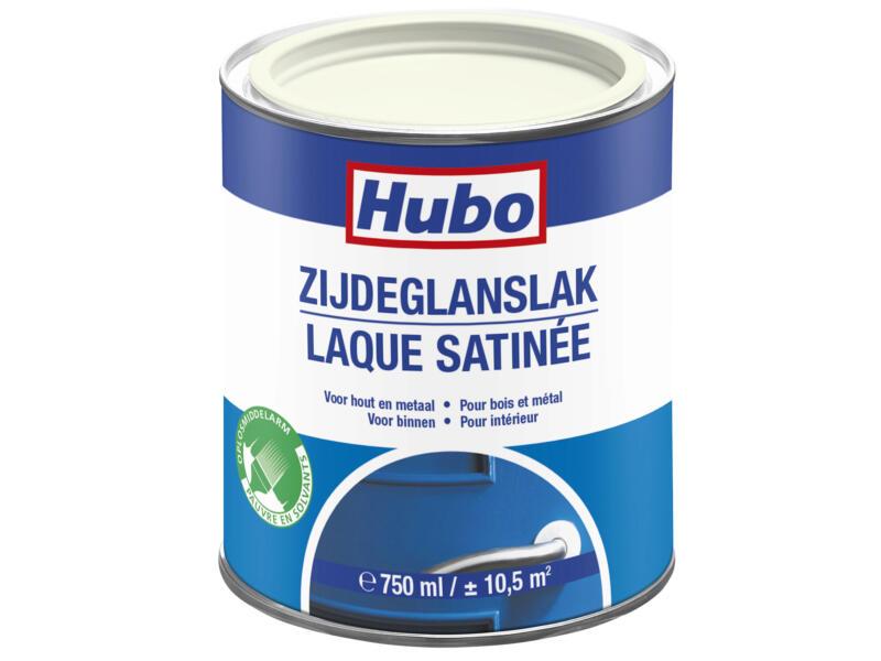 Hubo lak binnen zijdeglans 0,75l warm wit