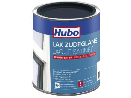 Hubo lak zijdeglans 0,75l navy