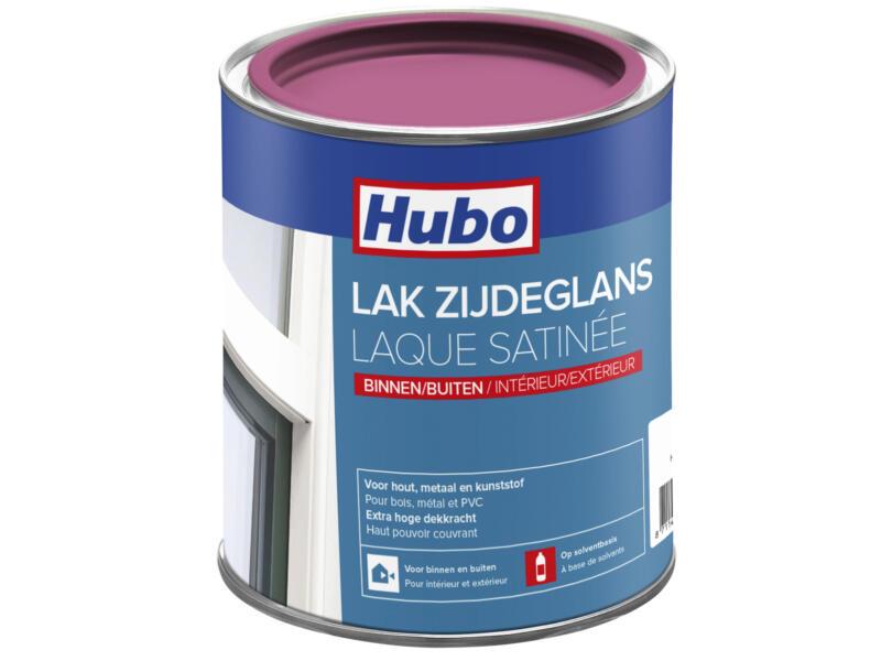 Hubo lak zijdeglans 0,75l pink