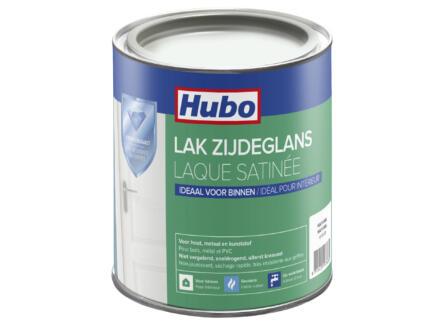 Hubo laque acrylique satin 0,75l blanc naturel