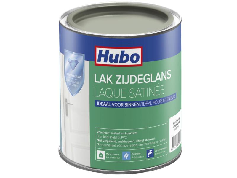 Hubo laque acrylique satin 0,75l gris sauge
