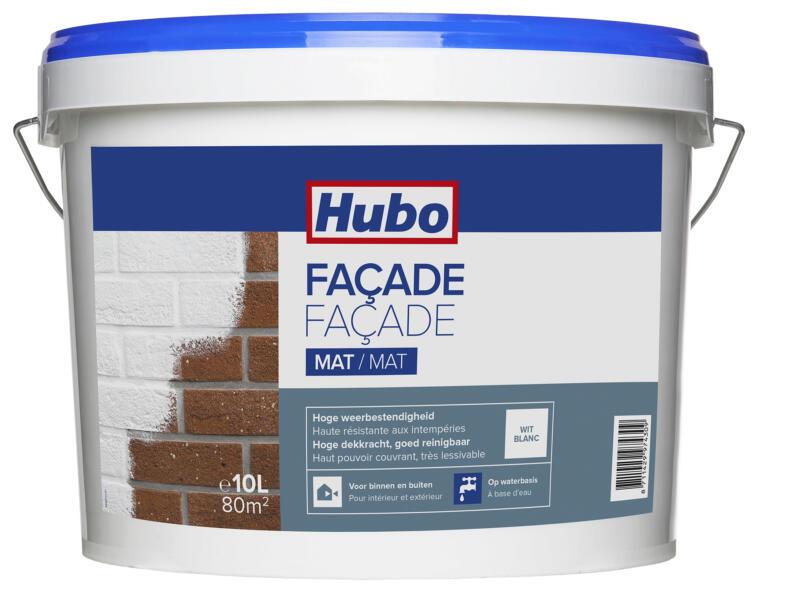 Hubo peinture façade 10l blanc