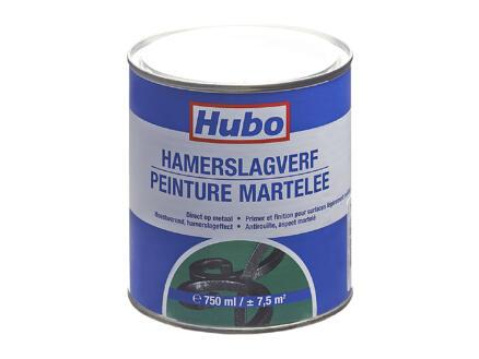 Hubo peinture martelée 0,75l blanc