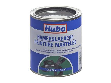 Hubo peinture martelée 0,75l noir