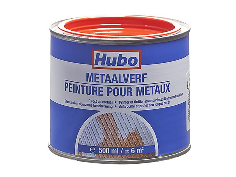 Hubo peinture métal 0,5l rouge