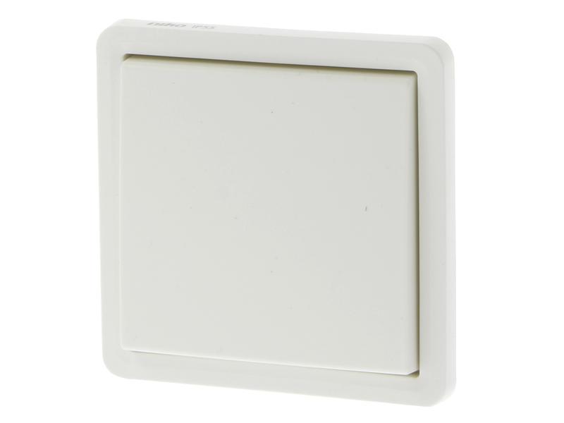 Niko Hydro interrupteur bipolaire blanc