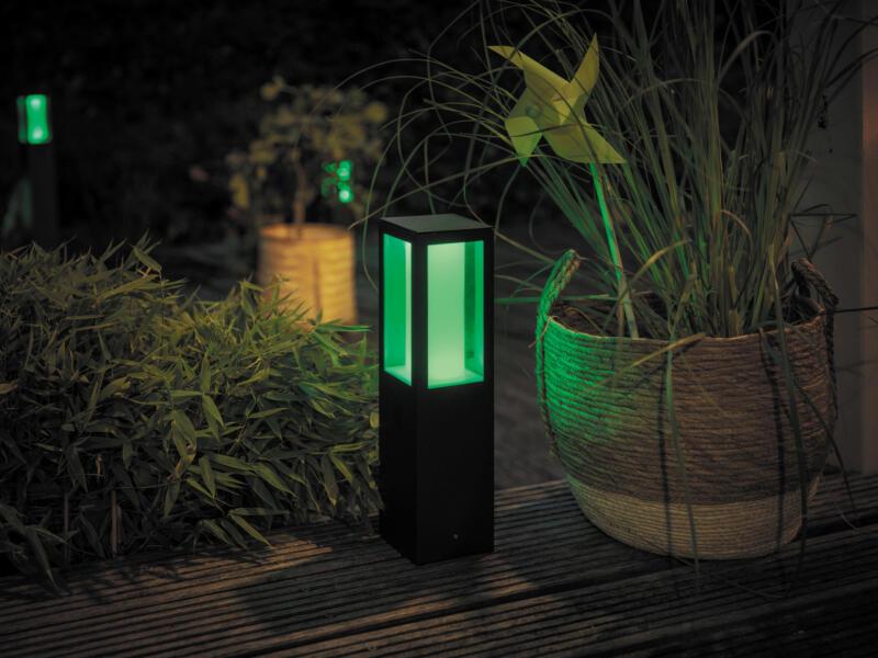 Philips Hue Impress LED sokkel uitbreidingsset 2x8 W 46cm dimbaar zwart
