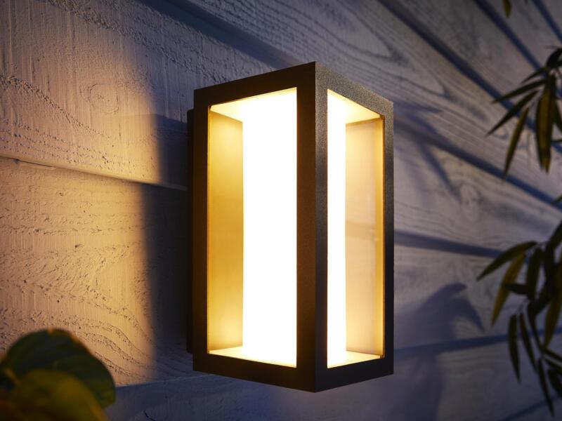 Hue Impress LED wandlamp 8W zwart