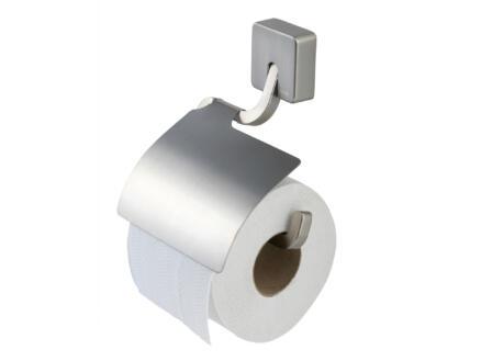 Tiger Impuls WC-rolhouder met klep geborsteld inox
