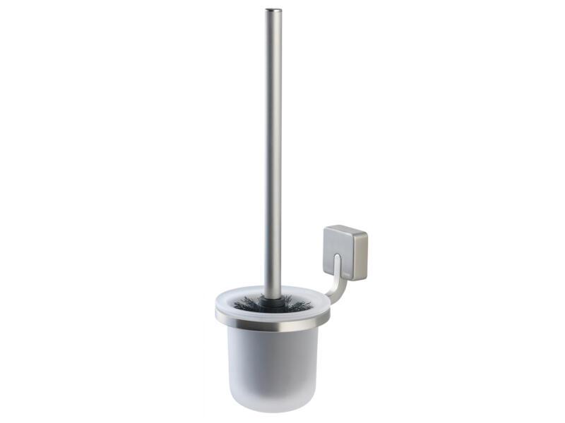 Tiger Impuls brosse WC avec support inox brossé