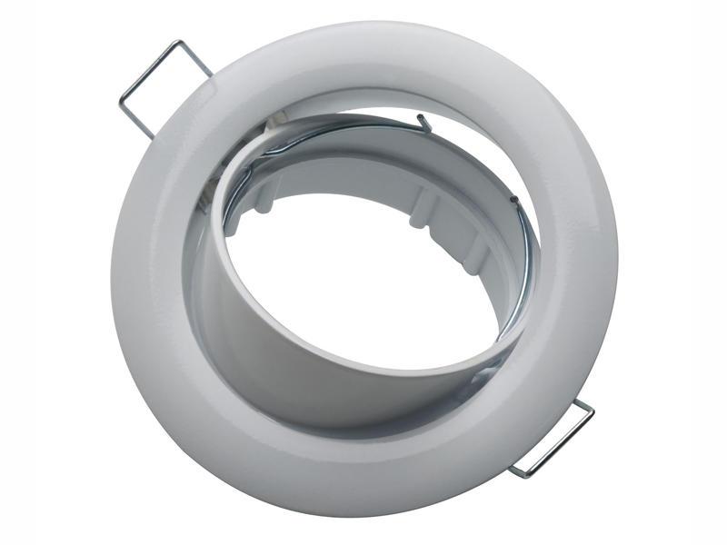 Light Things Inbouwspot rond 50mm kantelbaar wit