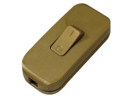 Legrand Interrupteur de cordon doré