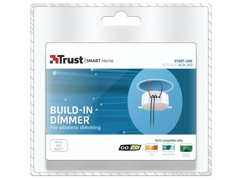 Trust Interrupteur encastrable on/off/dim 300W