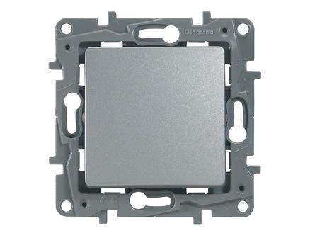 Legrand Interrupteur inverseur Niloé aluminium