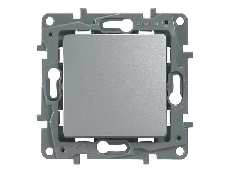 Legrand Interrupteur va-et-vient Niloé aluminium