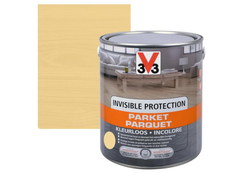 V33 Invisible Protection parquet mat 0,75l incolore