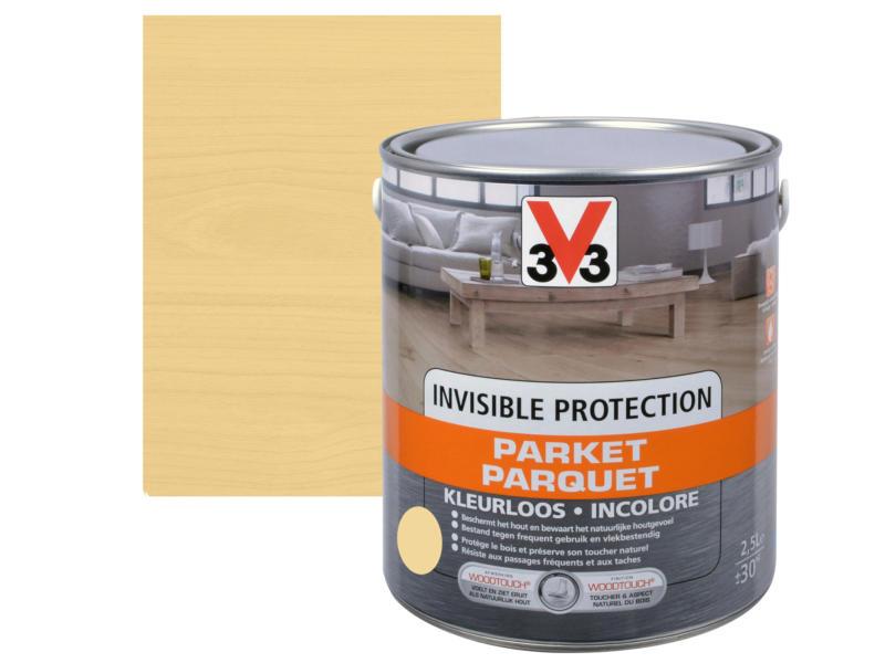 V33 Invisible Protection parquet mat 2,5l incolore