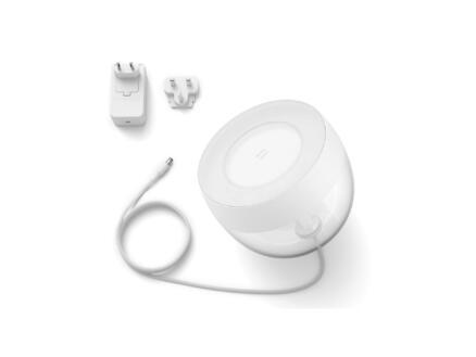 Philips Hue Iris lampe de table LED 8,1W dimmable RGB blanc