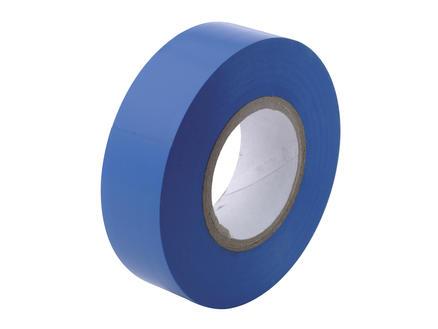 Isolatietape 10m x 15mm blauw