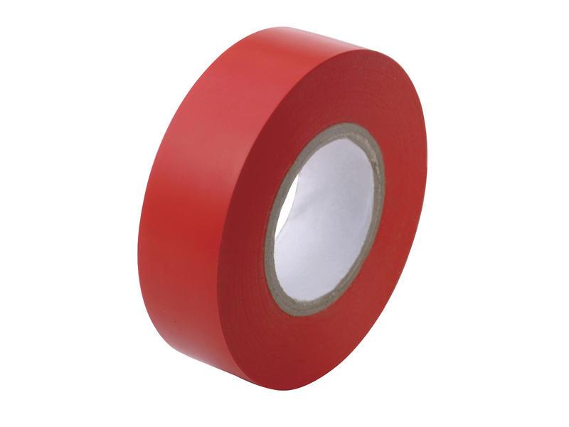 Isolatietape 10m x 15mm rood