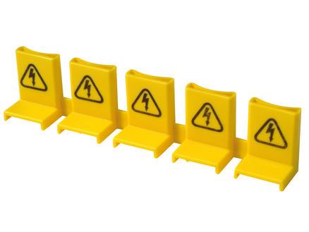Profile Isolation broches pour barrettes 5 pins jaune