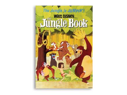 Disney Jungle Book toile imprimée 50x70 cm