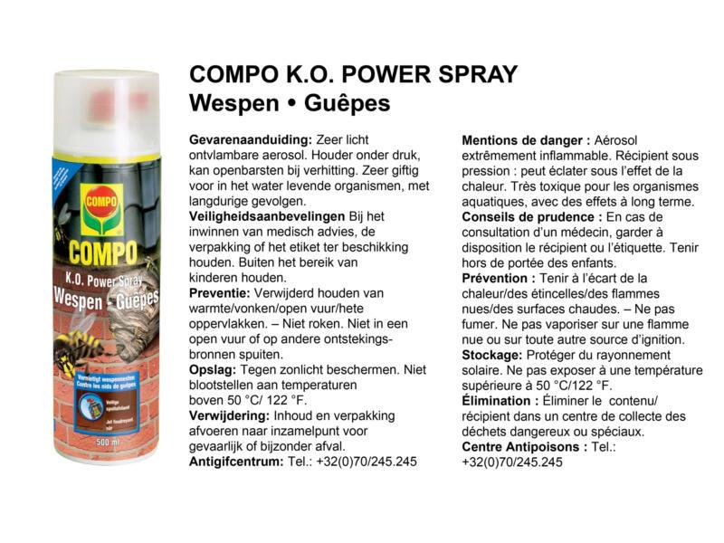 Compo K.O. Power wespenspray 500ml