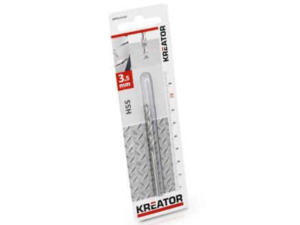 Kreator KRT010107 foret à métaux HSS 3,5mm