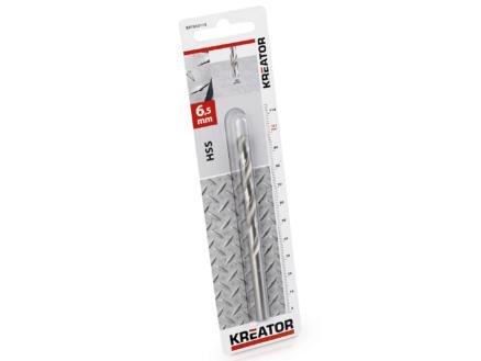 Kreator KRT010115 foret à métaux HSS 6,5mm
