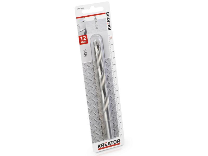 Kreator KRT010123 foret à métaux HSS 12mm