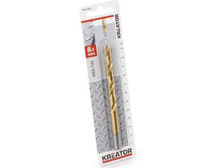 Kreator KRT010219 foret à métaux HSS-TiN 8,5mm