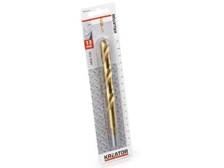 Kreator KRT010224 foret à métaux HSS-TiN 13mm