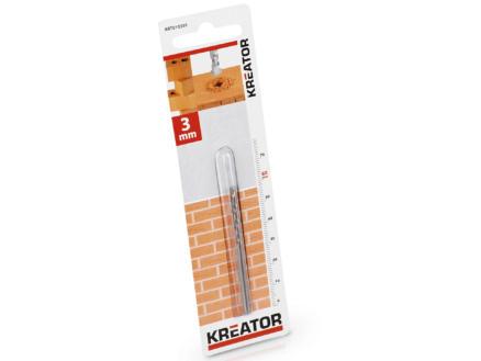 Kreator KRT010301 mèche à pierre 3x60 mm