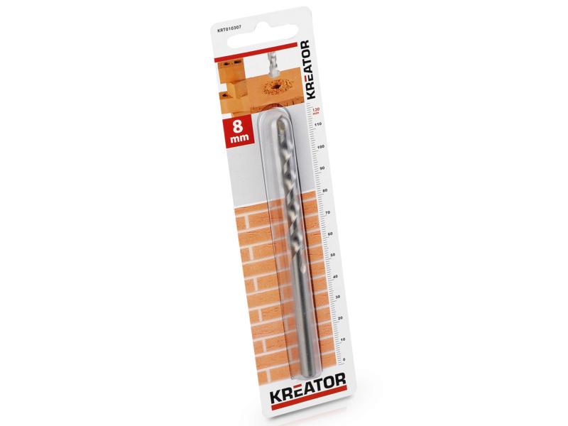 Kreator KRT010307 mèche à pierre 8x120 mm
