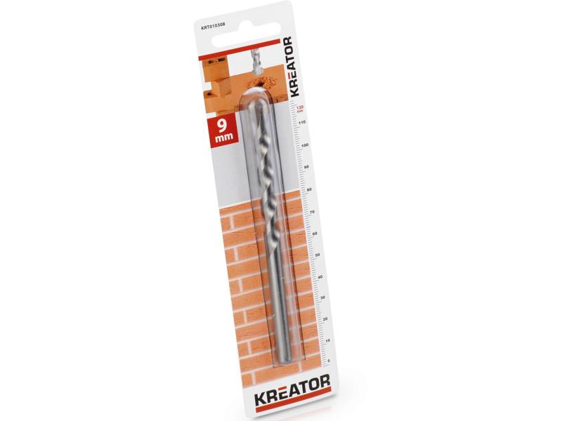 Kreator KRT010308 mèche à pierre 9x120 mm