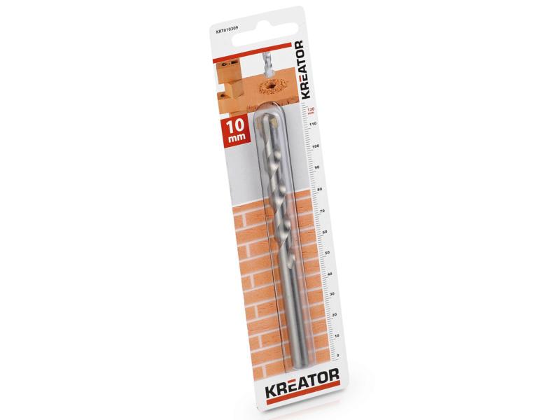 Kreator KRT010309 mèche à pierre 10x120 mm